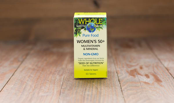 Whole Earth & Sea Women's 50+ Multivitamin & Mineral