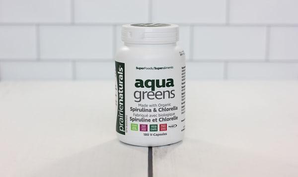 Organic Aqua Greens - Spirulina & Chlorella