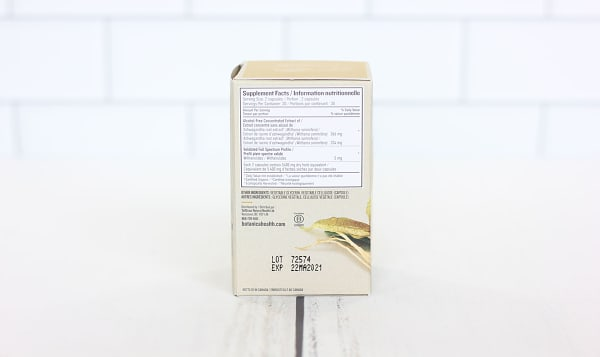 Ashwagandha Liquid Phytocaps (Certified Organic) - Nervine Tonic