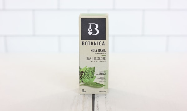 Holy Basil Liquid Herb - Reduces Stress