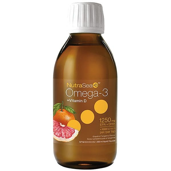 NutraSea +D Omega3 - Grapefruit/Tangerine Flavor