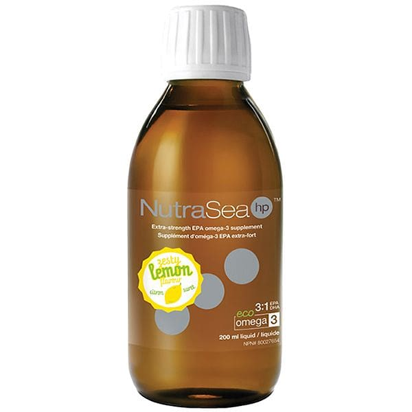 NutraSea hp Extra-strength EPA Omega-3  - Lemon Flavour