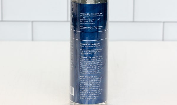 Magnesium Chloride Oil Spray