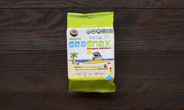 Organic Big Grab & Go Seaweed Snack Wasabi