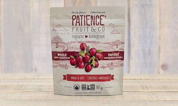 Organic Whole & Soft Cranberries