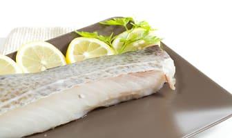 Ling Cod Portions - Skin On, Boneless (Frozen)- Code#: MP0964