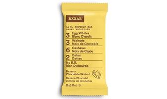 Banana Chocolat Walnut Protein Bar- Code#: SN1828
