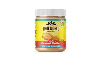 Organic Peanut Butter - Crunchy, Unsalted- Code#: SP0093