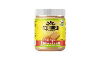 Organic Peanut Butter - Crunchy, Salted- Code#: SP0094