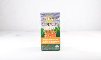 Organic Cordychi Capsules (Reishi & Cordyceps)- Code#: TG151