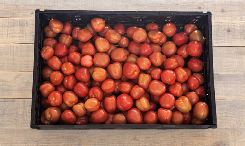 Local Tomatoes, Roma - CASE - BC/MEX- Code#: PR216800LCN