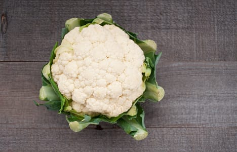 Organic Cauliflower - Except some markings on head- Code#: PR100071NCO