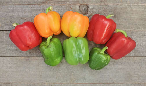 Organic Peppers, Imperfect- Code#: PR202231NPO