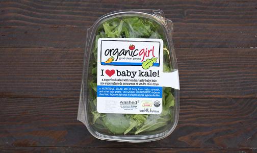 Organic Kale, Baby - Brands May Vary- Code#: PR100138NCO