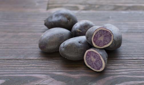 Local Organic Potatoes, Purple- Code#: PR100232LPO