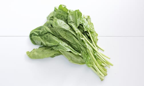 Organic Spinach, Bunch- Code#: PR217057NCO