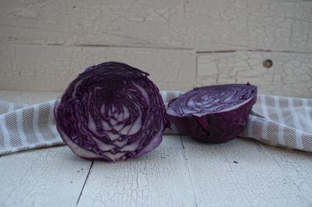 Local Organic Cabbage, Red- Code#: PR100058LCO