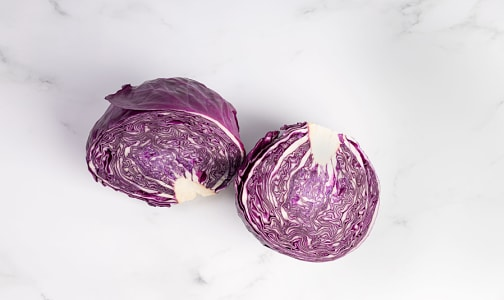 Organic Cabbage, Red - Cal/Mex- Code#: PR100058NCO