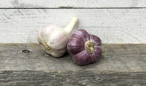 Organic Garlic, Purple- Code#: PR134163NPO