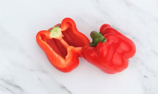 Organic Peppers, Red- Code#: PR100221NCO