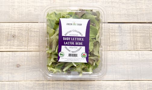 Local Organic Lettuce, Spring Mix 5oz- Code#: PR199443LCO