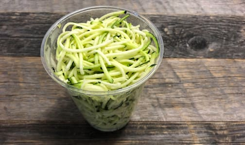 Organic Zucchini, Zoodle Cup 400g- Code#: PR147879NCO
