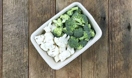 Organic Cauliflower, Cauliflower and Broccoli Florets- Code#: PR147843NCO