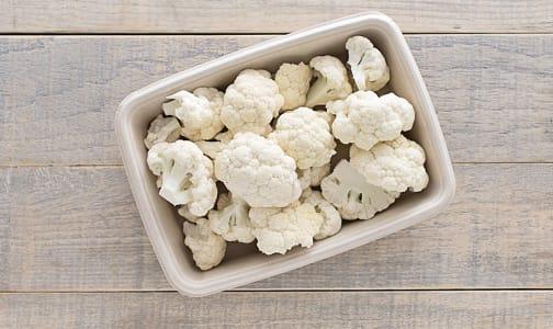 Organic Cauliflower, Florets- Code#: PR100494NCO