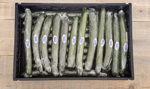 Local Cucumbers, Long English - CASE- Code#: PR217054LCN