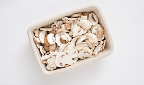Organic Mushrooms, Sliced- Code#: PR147526NCO