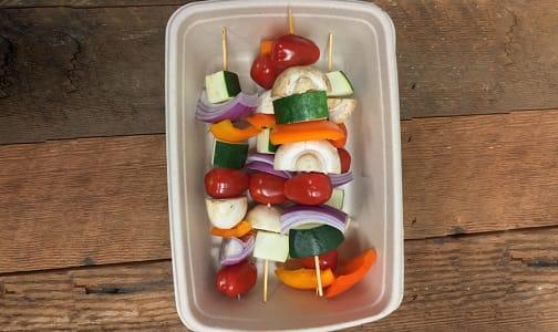 Organic Veggie Kabobs- Code#: PR147897NCO
