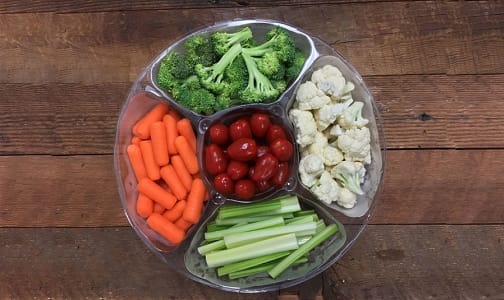 Vegetable Platter, Fresh Cut- Code#: PR147898NCN