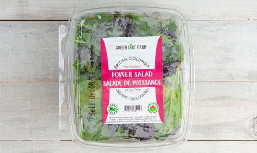 Local Organic Salad Greens, Power Salad- Code#: PR217117LCO
