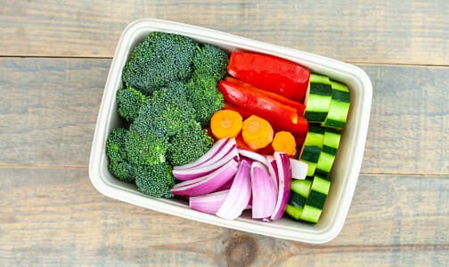 Organic Veggie Mix, Stir Fry- Code#: PR217134NCO