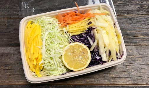 Organic Coleslaw Asian Mix, Fresh Cut- Code#: PR147580NCO