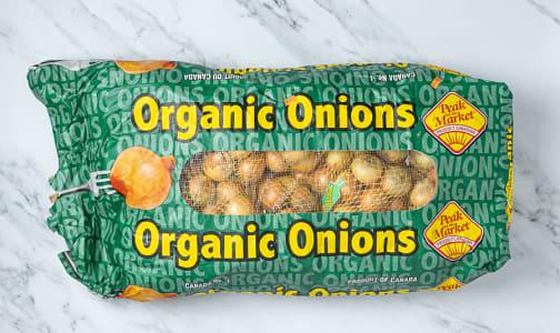 Organic Onions, Yellow - Case- Code#: PR217198NCO