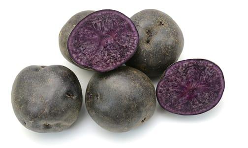 Local Organic Potatoes, Purple Nugget- Code#: PR217303LPO