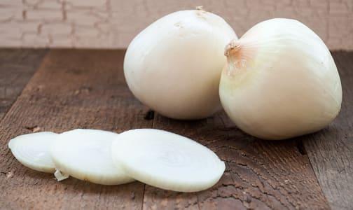 Organic Onions, White - Jumbo- Code#: PR100186NPO