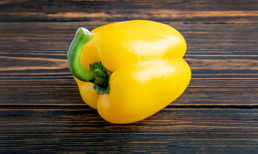 Peppers, Yellow Local - May sub orange pepper- Code#: PR147574LCN