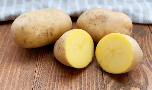Local Organic Potatoes, Yellow - White- Code#: PR100238LPO