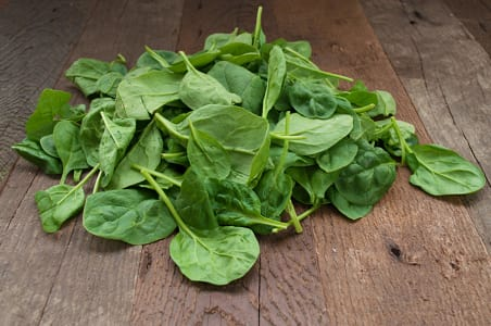 Local Organic Spinach, Baby- Code#: PR100256LCO