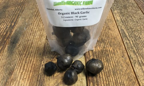 Local Organic Garlic, Black - Fermented- Code#: PR147874LCO