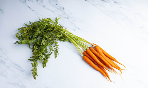 Local Organic Carrots, Bunched - BC/CA- Code#: PR100063LCO