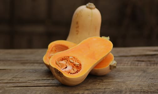Local Organic Squash, Butternut - or Honeynut Squash- Code#: PR100265LCO