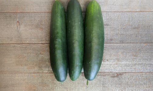 Local Organic Cucumbers, Field - Island Grown- Code#: PR100089LCO