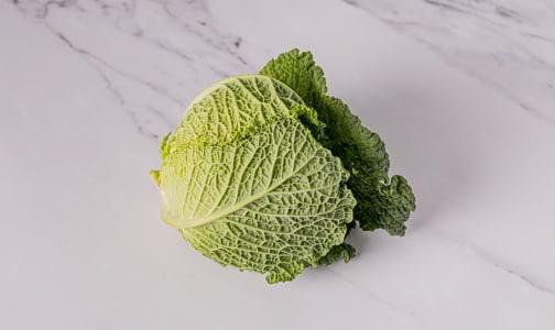 Organic Cabbage, Savoy- Code#: PR100425NCO