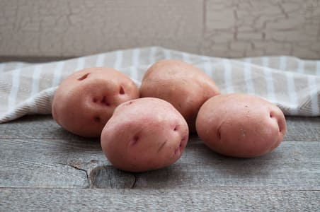 Local Organic Potatoes, Red Nugget - Red, New Crop!- Code#: PR100493LPO