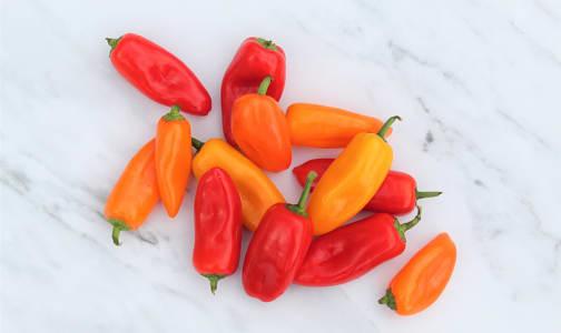 Organic Peppers, Mini Sweet- Code#: PR101150NCO