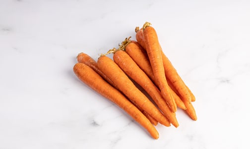 Local Organic Carrots, Cello 2 lbs- Code#: PR150579LCO