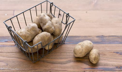 Local Organic Potatoes, Russet, 5 lb bag - BC Grown- Code#: PR174700LCO